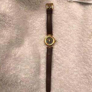 Brown Fendi watch